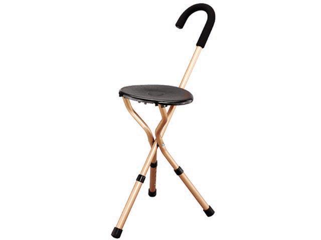 מקל הליכה מושב קשיח לכבדי משקל