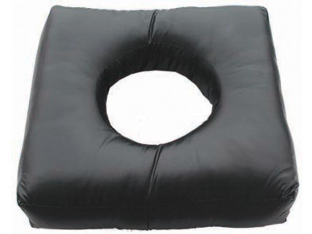כרית ישיבה עם חור