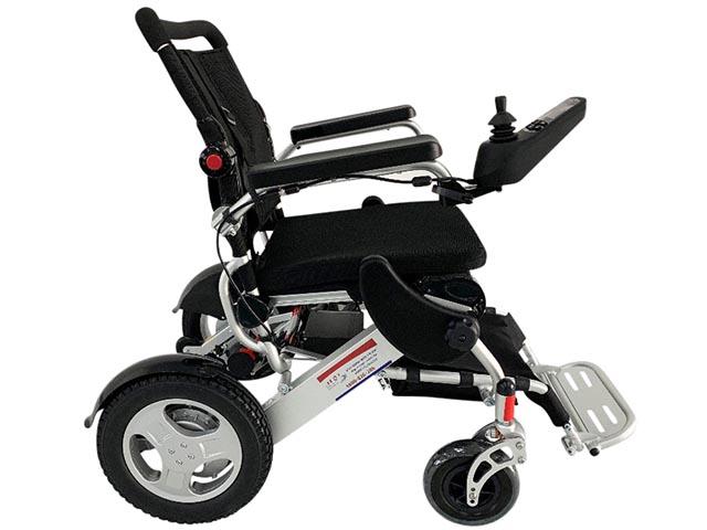 שונות כסא גלגלים ממונע, חכם ומתקפל בקלות, לכבדי משקל, רחב במיוחד GC-16